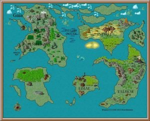 Early Concept Map of Gaia