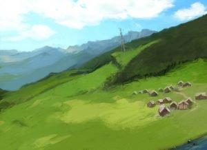 Toah Village Concept Art