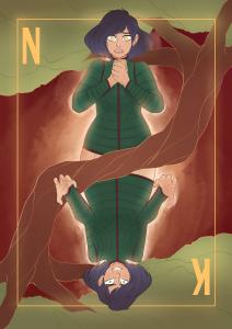 Nyx and Kali Card Art